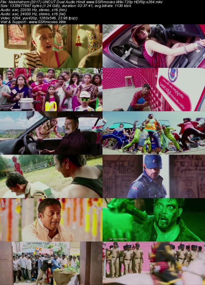 Nakshatram (2017) UNCUT Dual Audio Hindi 720p HDRip 1.2GB Movie Download