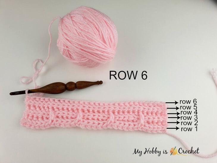 Brick Stitch row 6