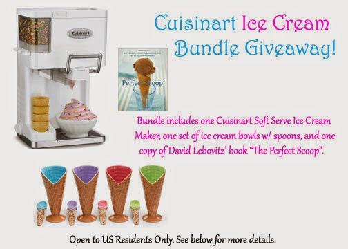 Cuisinart Ice Cream Bundle Giveaway