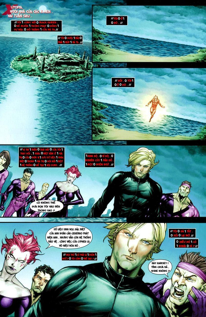 X-Men Necrosha chap 1 trang 31