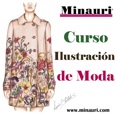 Ilustración de Moda - Fashion Design - Fashion illustration - Fashion Drawing - Dibujo de Moda - Diseño de Moda - Minauricontigo - Dibujo de Figurin - Model Drawing