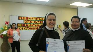Primer lugar en el Certamen de Creatividad Didáctica 2012