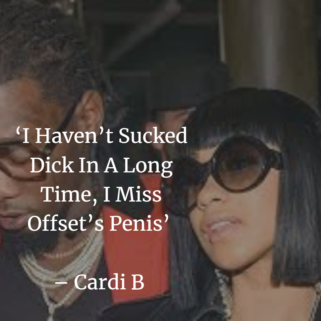 Cardi B  Top Quotes