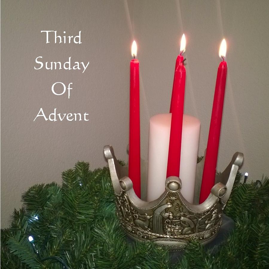 the third sunday of advent the shepherd candle