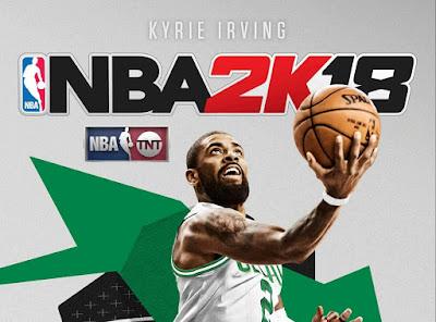 האריזה החדשה של NBA 2K18 תציג את קיירי אירווינג במדי בוסטון סלטיקס