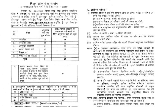 Bihar PSC Assistant Recruitment 2018: Apply Now