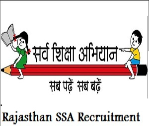 SSA Rajasthan Recruitment 2017