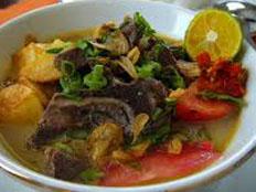 Resep praktis (mudah) masakan soto babat empuk spesial (istimewa) enak, lezat