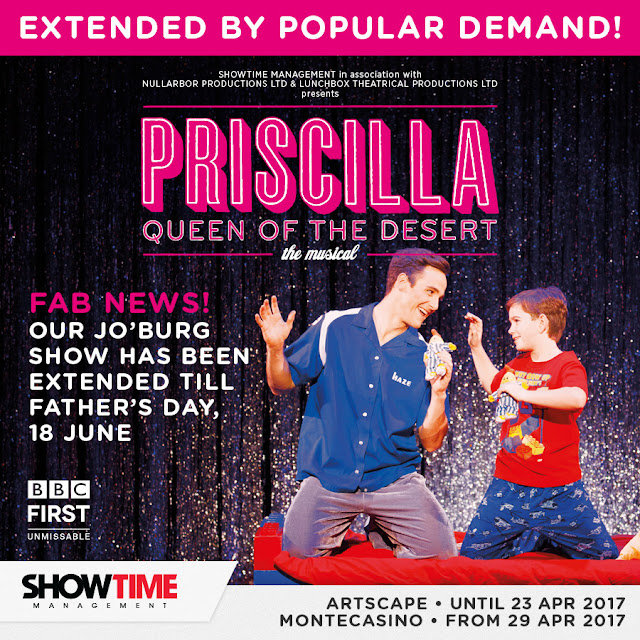 PRISCILLA Show Extends #Johannesburg Season #PriscillaSA @Showtime_SA @MontecasinoZA