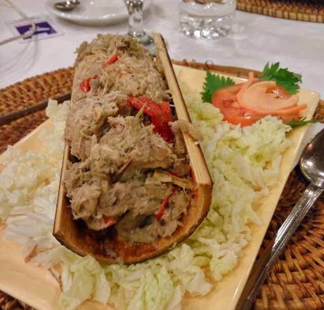 Pa'piong, Kuliner Ciri khas Negeri Atas