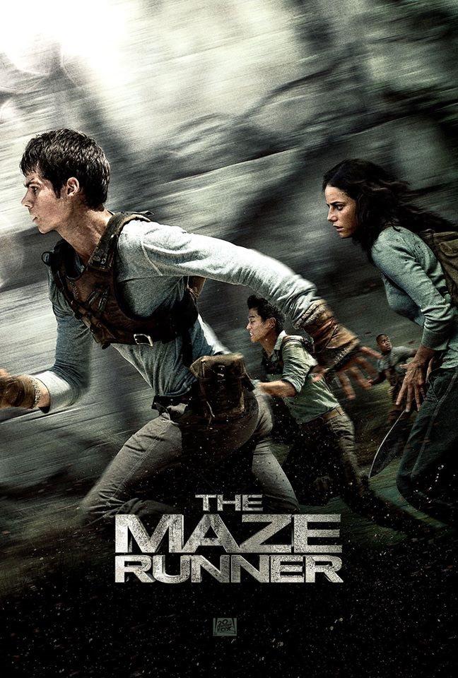 Poster 3: The Maze Runner