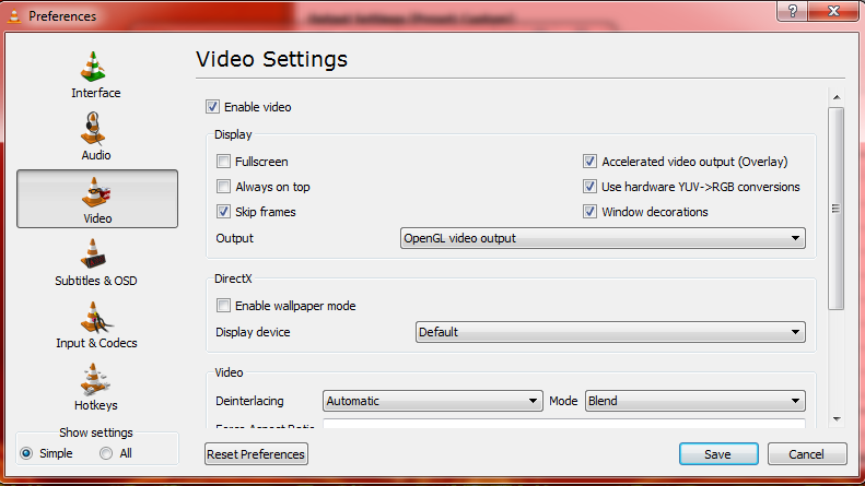 Quick Fix: VLC issues with MP4 in Windows