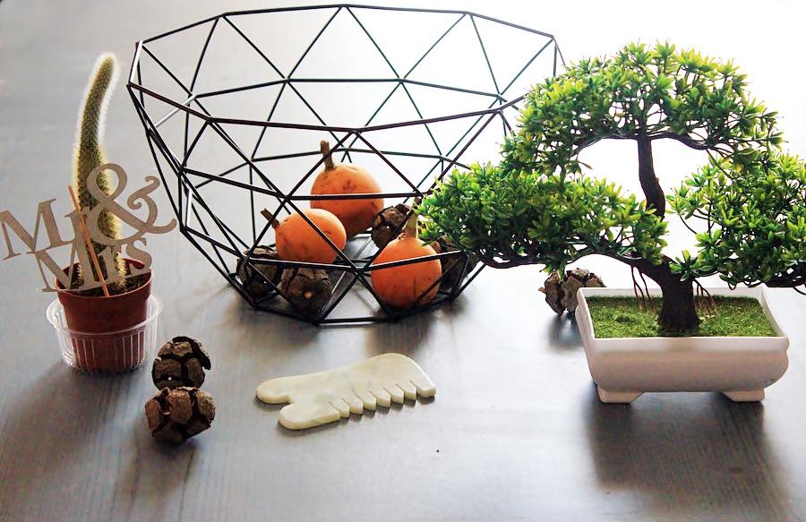 Tosave Haul: Fruit Basket, Artificial Bonsai. Корзина для фруктов, бонсай, нефритовый массажер / обзор, отзывы