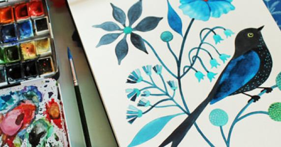 Consejos De Pintura Uso Acrílicos Como Acuarela Los Mejores