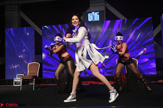 Sunny Leone Dancing on stage At Rogue Movie Audio Music Launch ~  171.JPG
