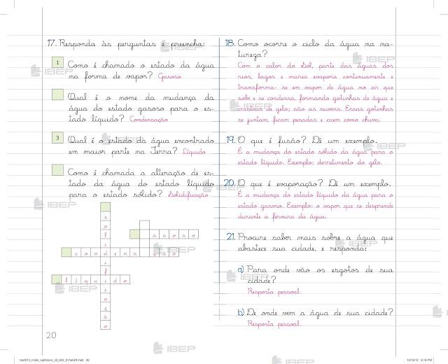 Caderno do Futuro 3 Ano Ciencias para Baixar Pdf