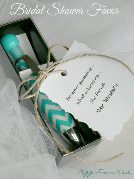 Easy Bridal Shower Favor