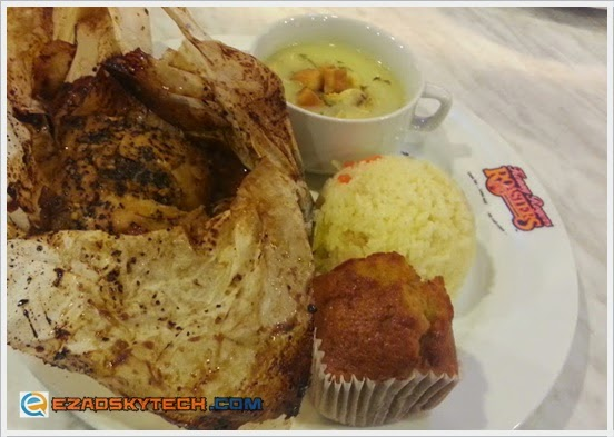 Kenny Rogers Terrific Teriyaki Treat : T-Wrapped Chicken