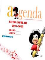 Agenda escolar de mafalda en word