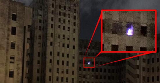 Luz misteriosa em hospital abandonado intriga internautas - Capa
