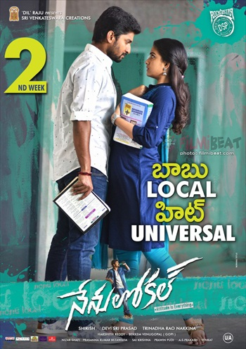Nenu Local 2017 UNCUT Dual Audio Hindi 480p HDRip 400MB