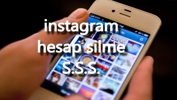 instagram hesabımı nasıl silerim