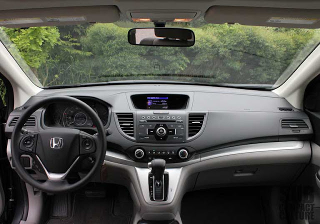 2012 Honda CR-V EX AWD Review interior dashboard