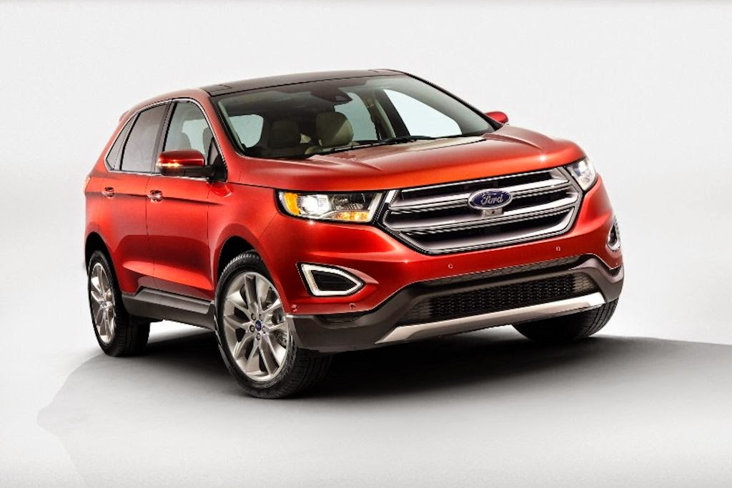 Sales Of The All New Ford Edge Start In The First Quarter Of  At The Global Launch Event New Ford Motor Company President Mark Fields Made An