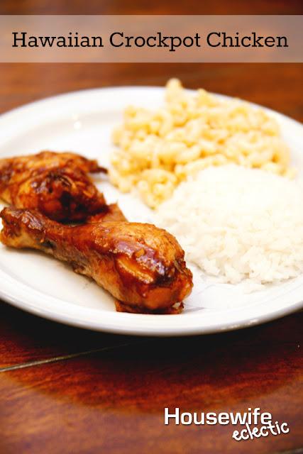 Housewife Eclectic Hawaiian Crockpot Chicken And Macaroni