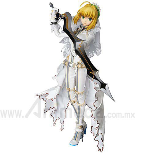 Figura Saber Bride Real Action Heroes (RAH) Fate/EXTRA CCC Medicom Toy