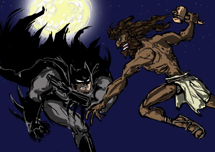 jesus dust batman vs jesus