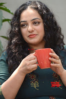 Nithya Menon promotes her latest movie in Green Tight Dress ~  Exclusive Galleries 026.jpg