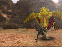 Download Mod Texture Diablos [Golden Diablos] MHFU For Emulator PPSSPP