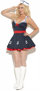 Women's 2 pc. Sailors Delight Costume