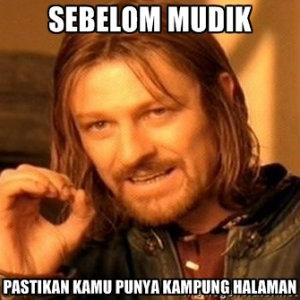 Meme Mudik