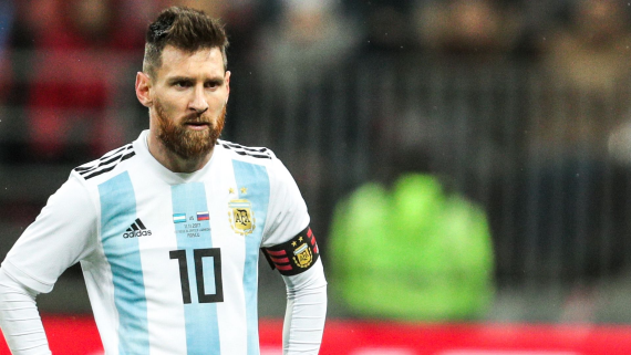 Argentine superstar Lionel Messi
