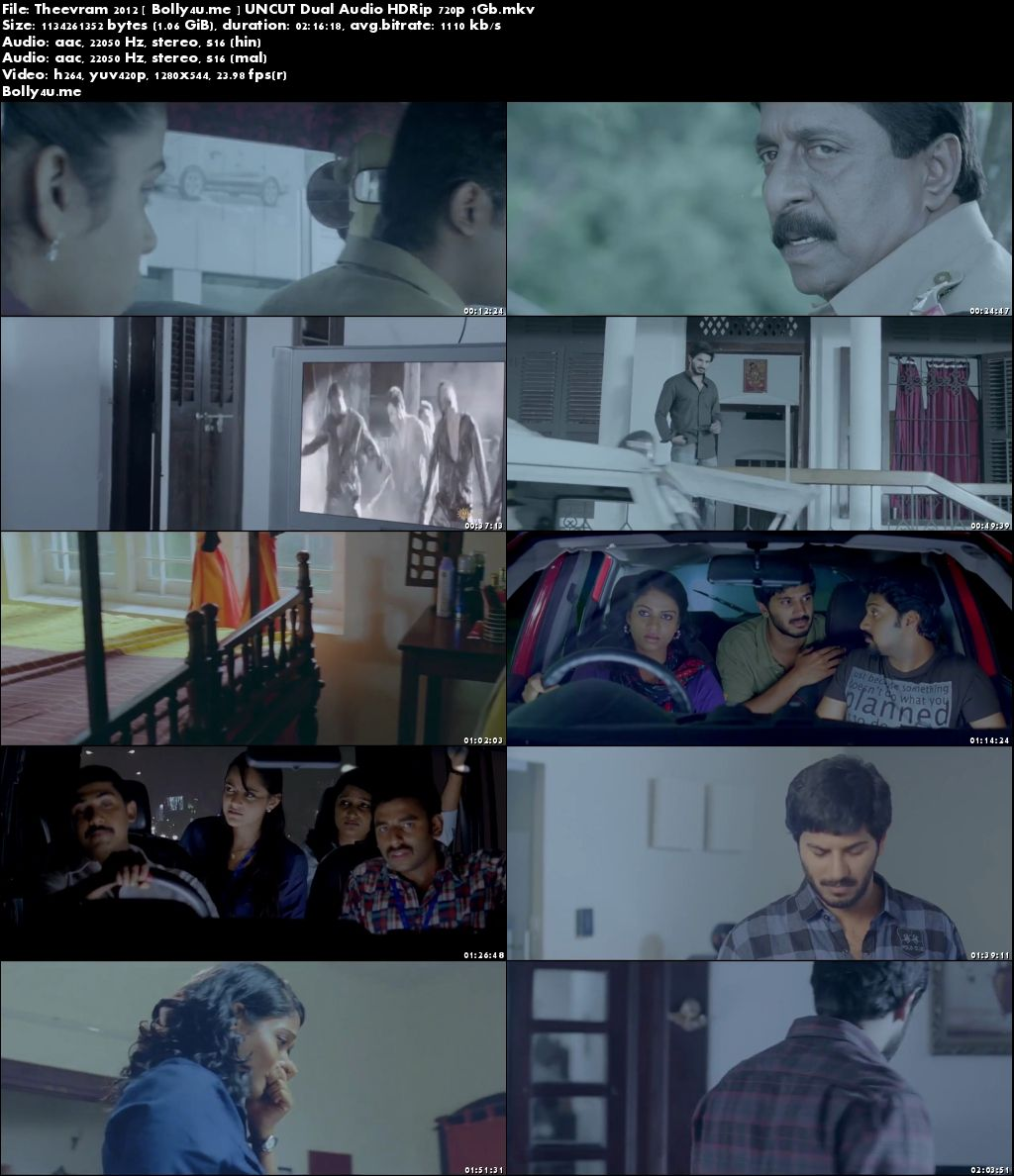 Theevram 2012 HDRip 400MB UNCUT Hind Dubed Dual Audio 480p Download