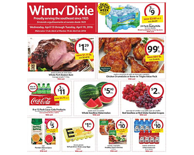 Amy 39 S Daily Dose Winn Dixie Coupon Deals Week Of 4 13