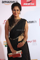 Sindhu looks fabulous in Black Saree designer choli at Mirchi Music Awards South 2017 ~  Exclusive Celebrities Galleries 035.JPG