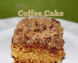 Toffee Coffee Cake