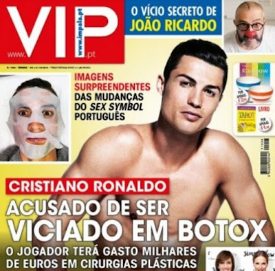 Photo: Cristiano Ronaldo reportedly spends thousands of Euros on cosmetic therapy and botex