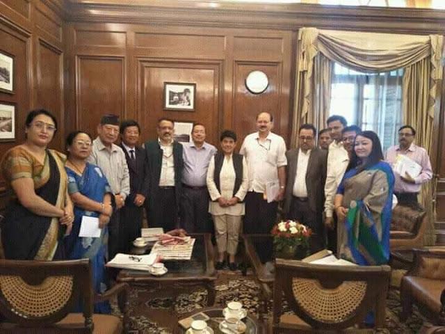 GJM-Bimal Gurung faction meets Union Home Secretary Rajib Gauba