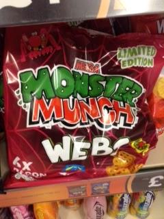 monster munch webs