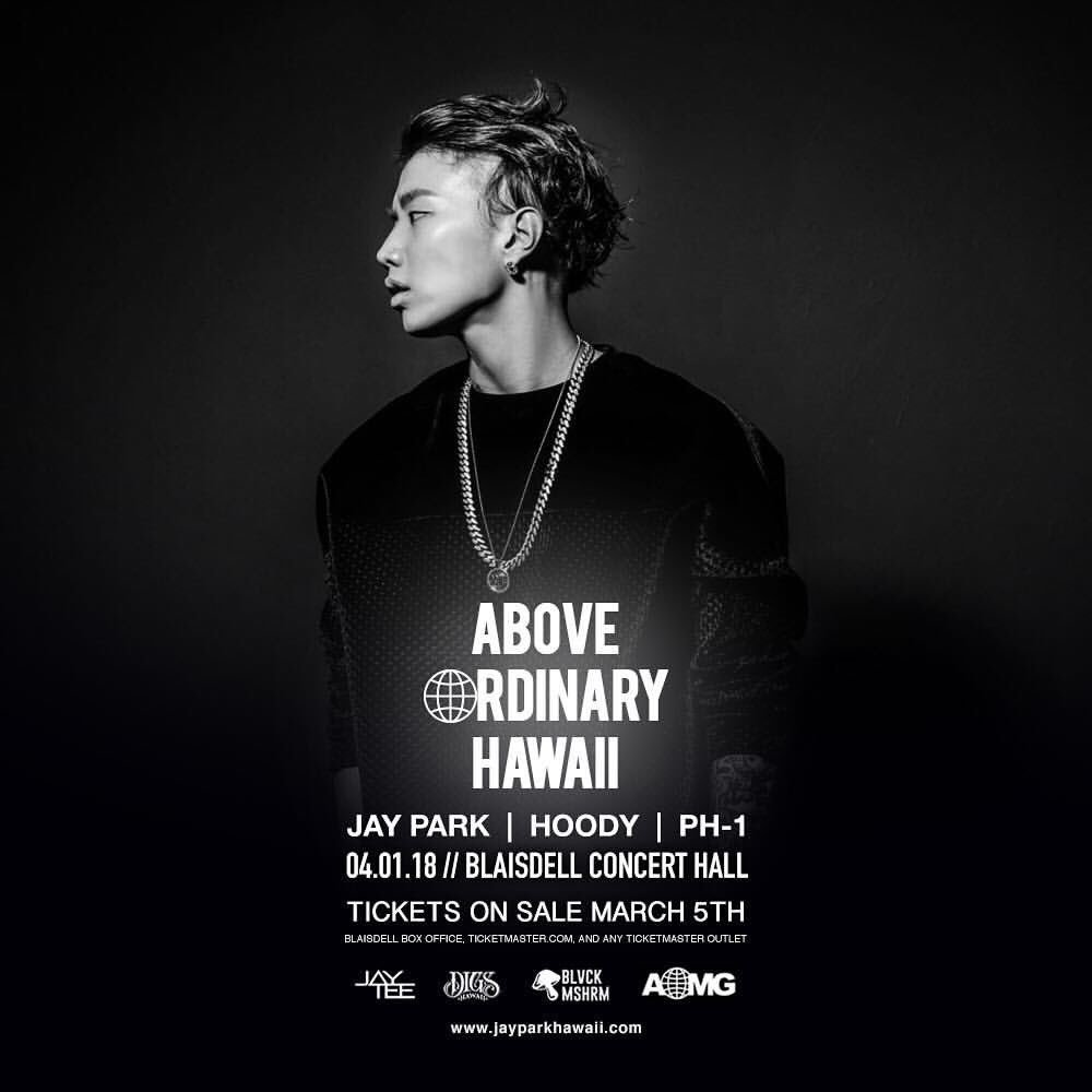 Concert Watch Jay Park Hoody And Ph 1 To Perform In Hawaii