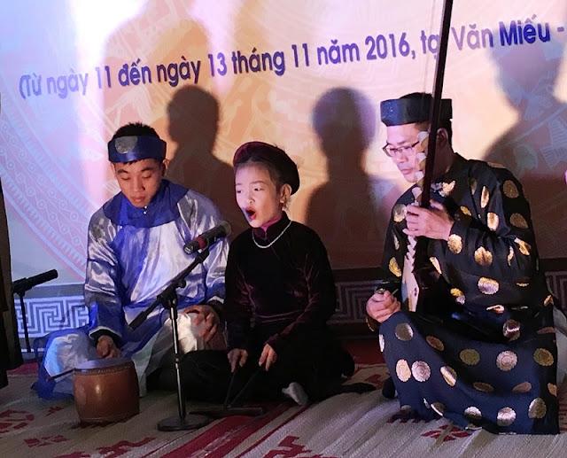 Ca tru Hanoi Festival 2017