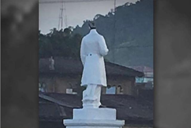 Maute terrorists behead Jose Rizal's statue