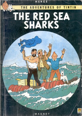 Download free ebook Tintin and the Red Sea Sharks pdf