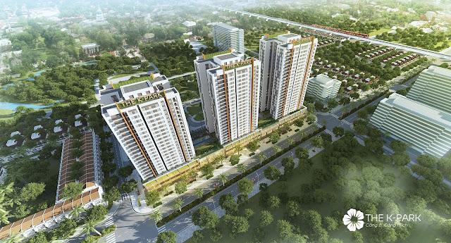 Phối cảnh dự án The K - Park Văn Phú