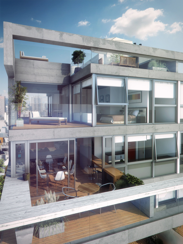 Arquitectura  Arquidea Edificio de categora premium en