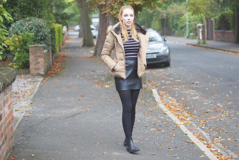 leather asos mini skirt